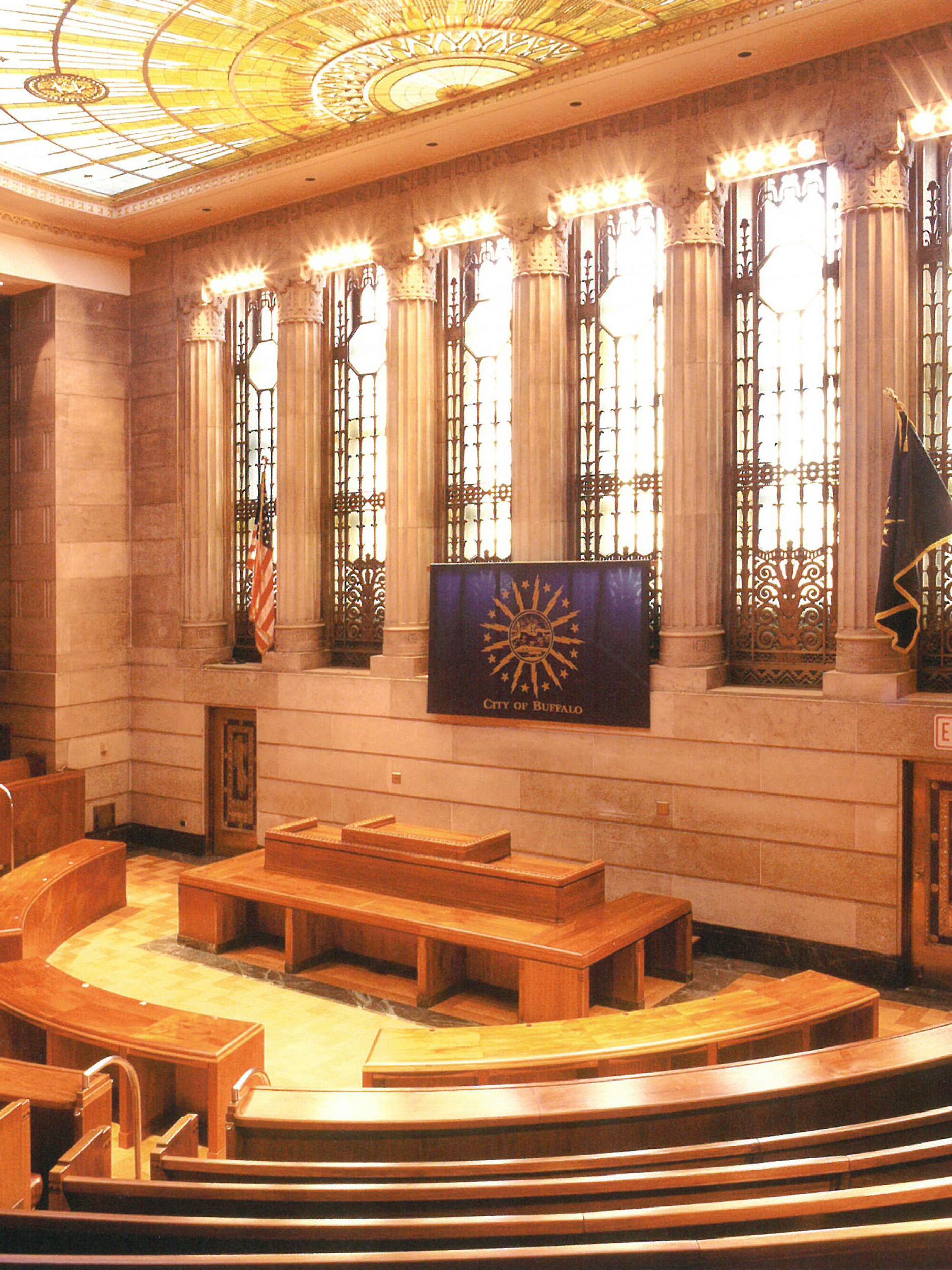 Buffalo City Hall Common Council Chambers Restoration
