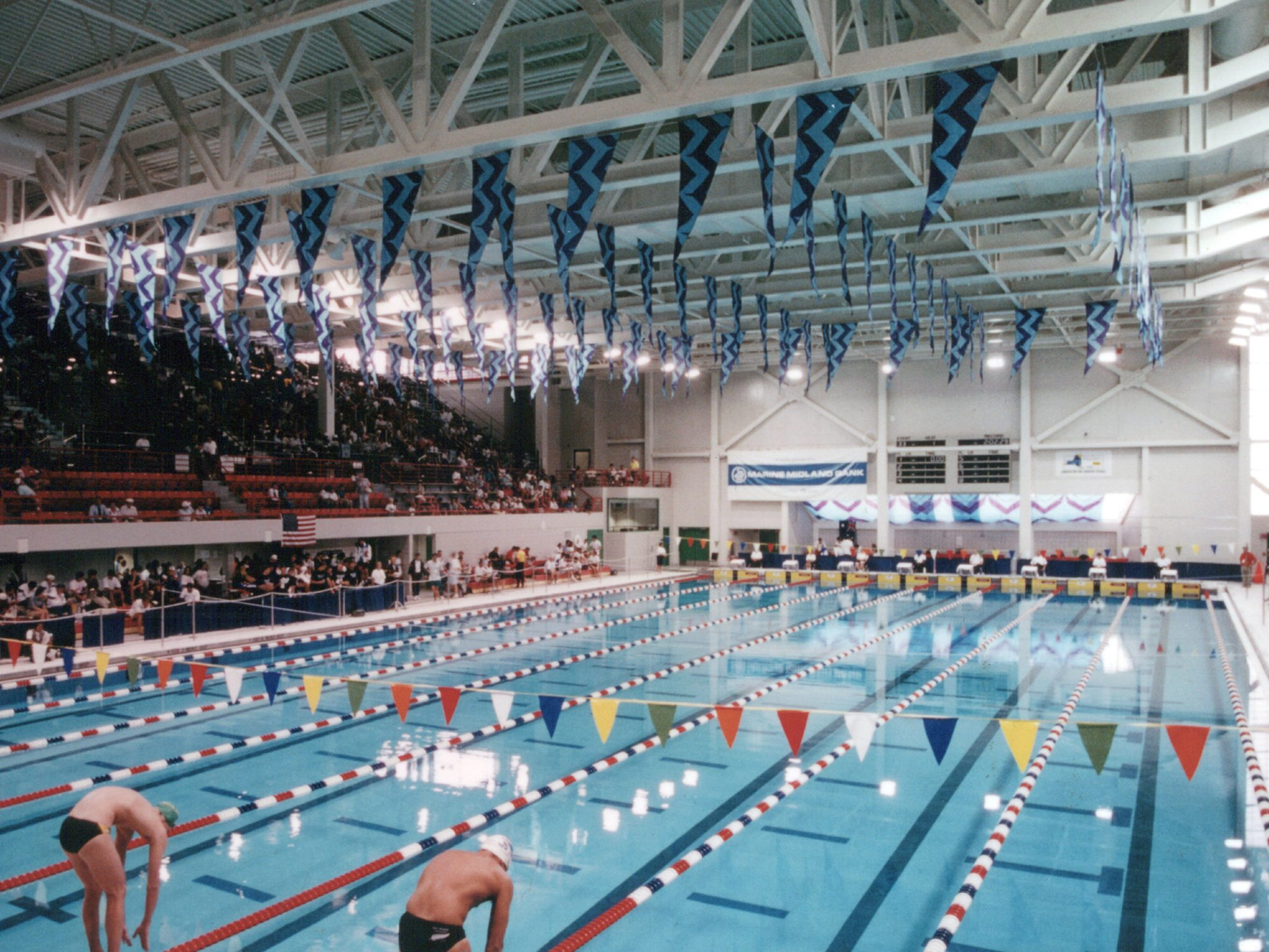 Erie Community College Burt P Flickinger Athletic Center