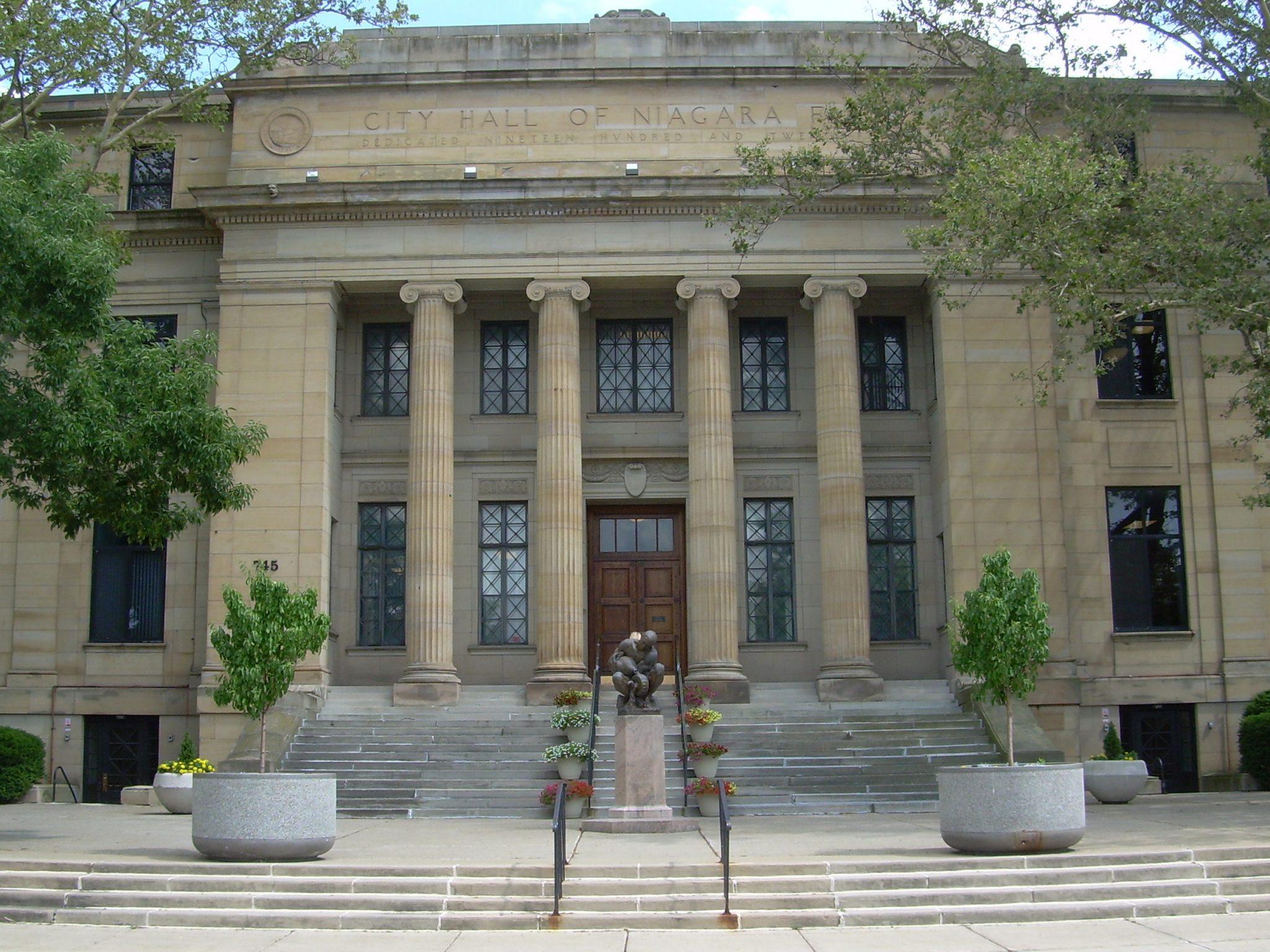 Niagara Falls City Hall Facade Restoration Hhl Architects