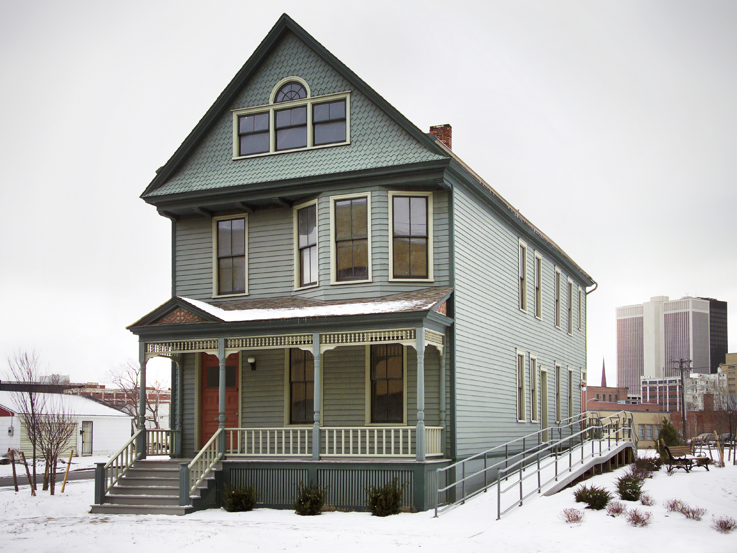 J Buffalo House The Nash House Museum ...