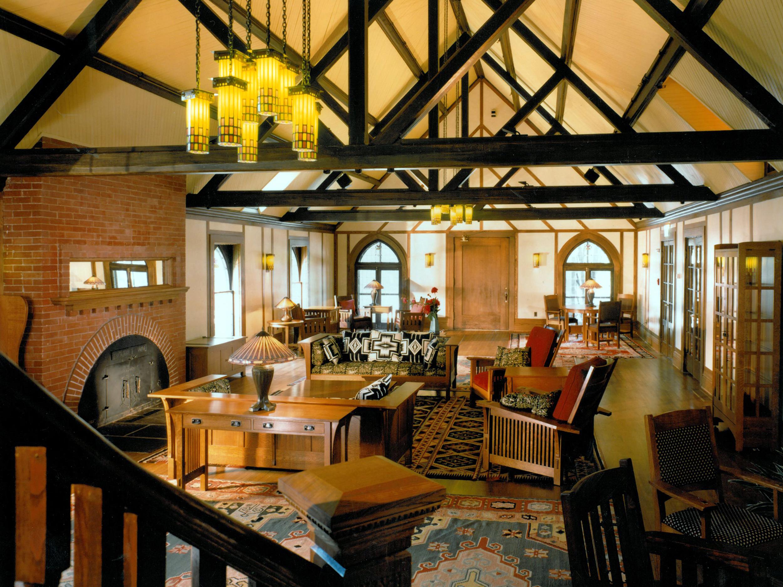 The Roycroft Inn Restoration Hhl Architects